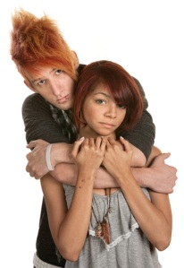 How to end DV next 5 - young sad couple   © Scott Griessel  Dreamstime