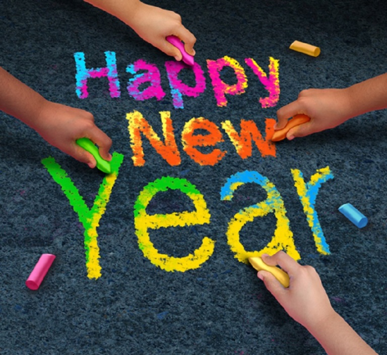 Happy New Year © Skypixel