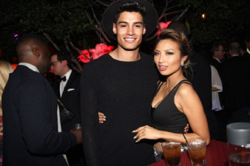 Siva Kaneswaran and Jeannie Mai
