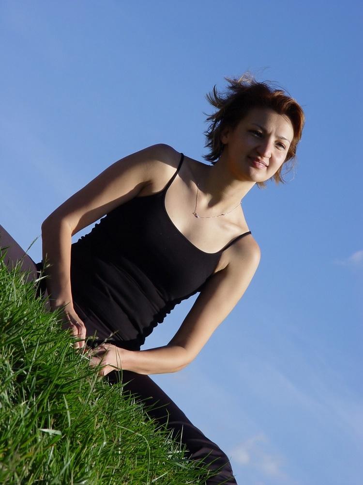 Young Woman Breathing © Galina Barskaya