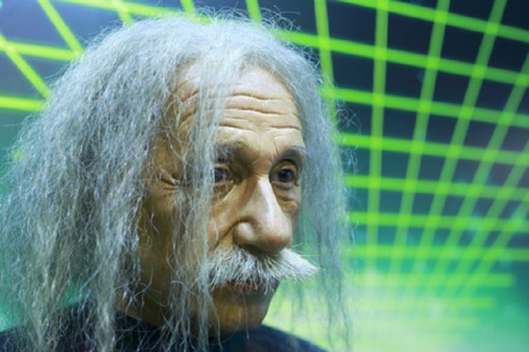 Einsteins Wax Figure © Maocheng