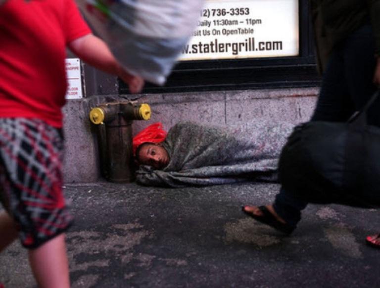 Homeless Man - Spencer Platt Getty Image