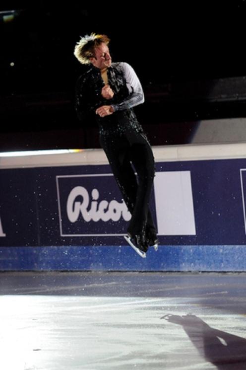 Ice skater Evgeni Plushenko © Franco Ricci