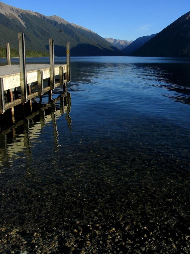 lake wharf