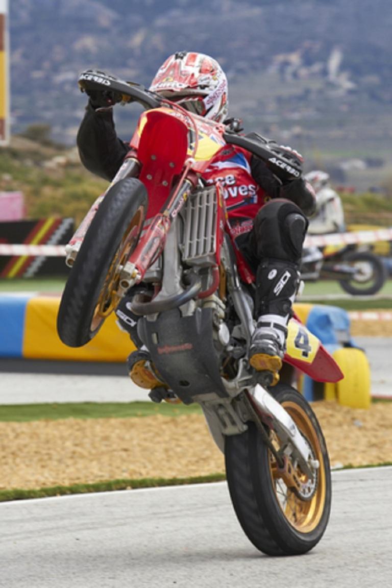 Motocycle SuperMotard Anthony Ford Dunn 2012 © Giromin