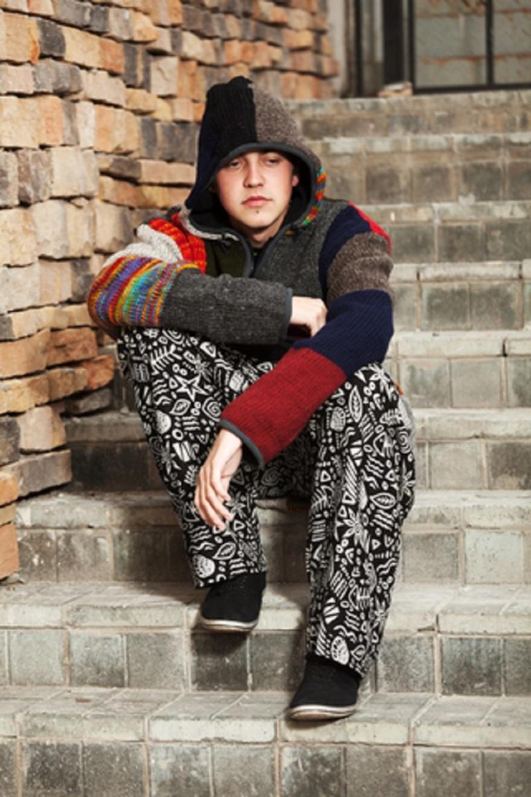 Sad Young Man Sitting On The Steps - © Wrangler.jpg