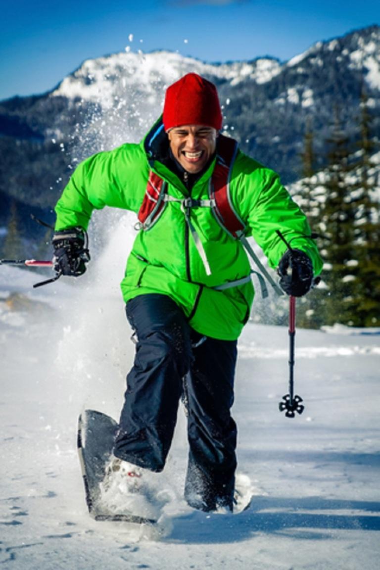 Young Man Having Fun in Winter © Terry Schmidbauer