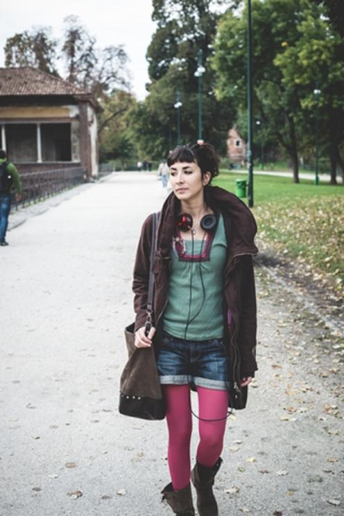 Young Woman Walking - © Eugenio Marongiu