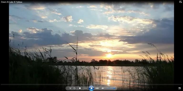 Dawn At Lake ykkaa