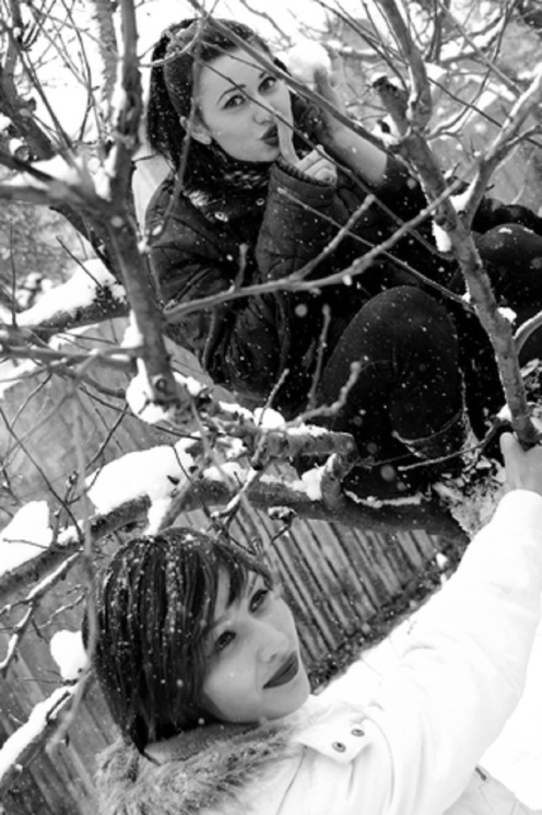 Friend Playing In The Snow  © Dragos Daniel Iliescu.jpg