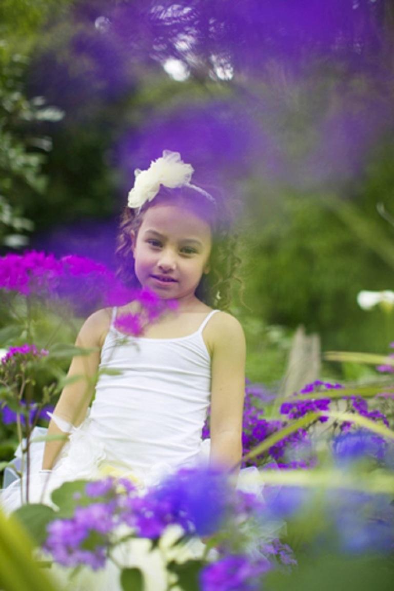 Girl In The Garden © Gina Smith