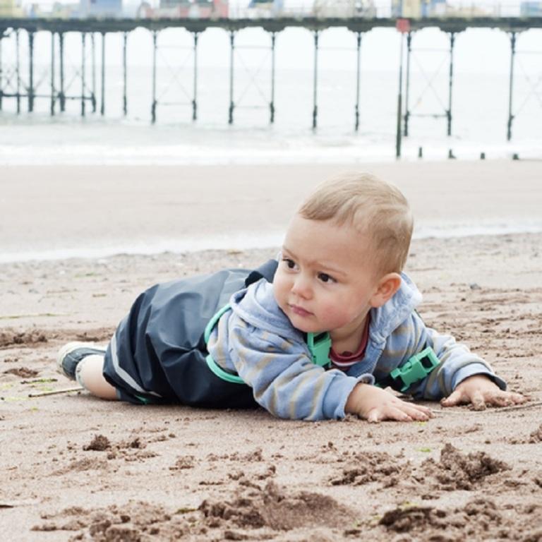Child Playing on the Beach © Pavla Zakova