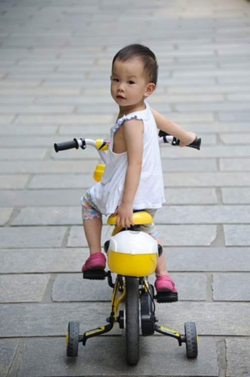 Child Riding Bike © Hupeng.jpg