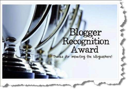 Blogger Award from TJ