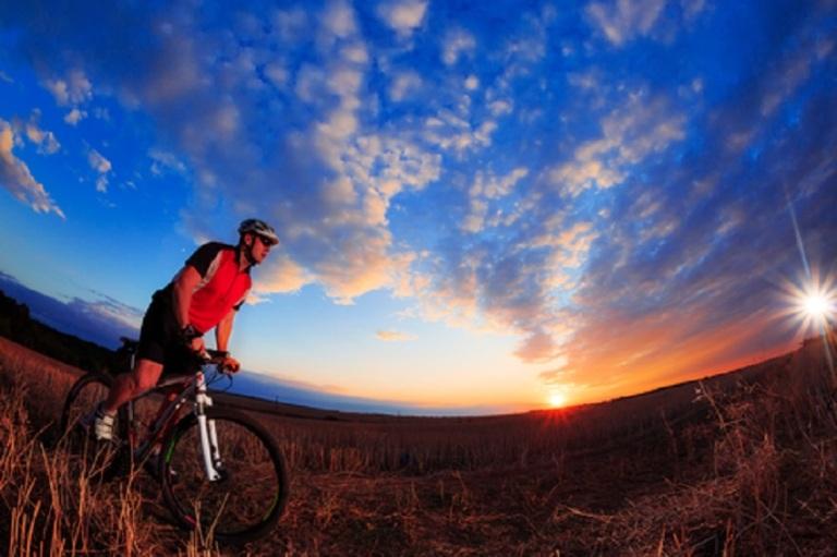 Cyclist on Bike © Alekseyrezin.jpg